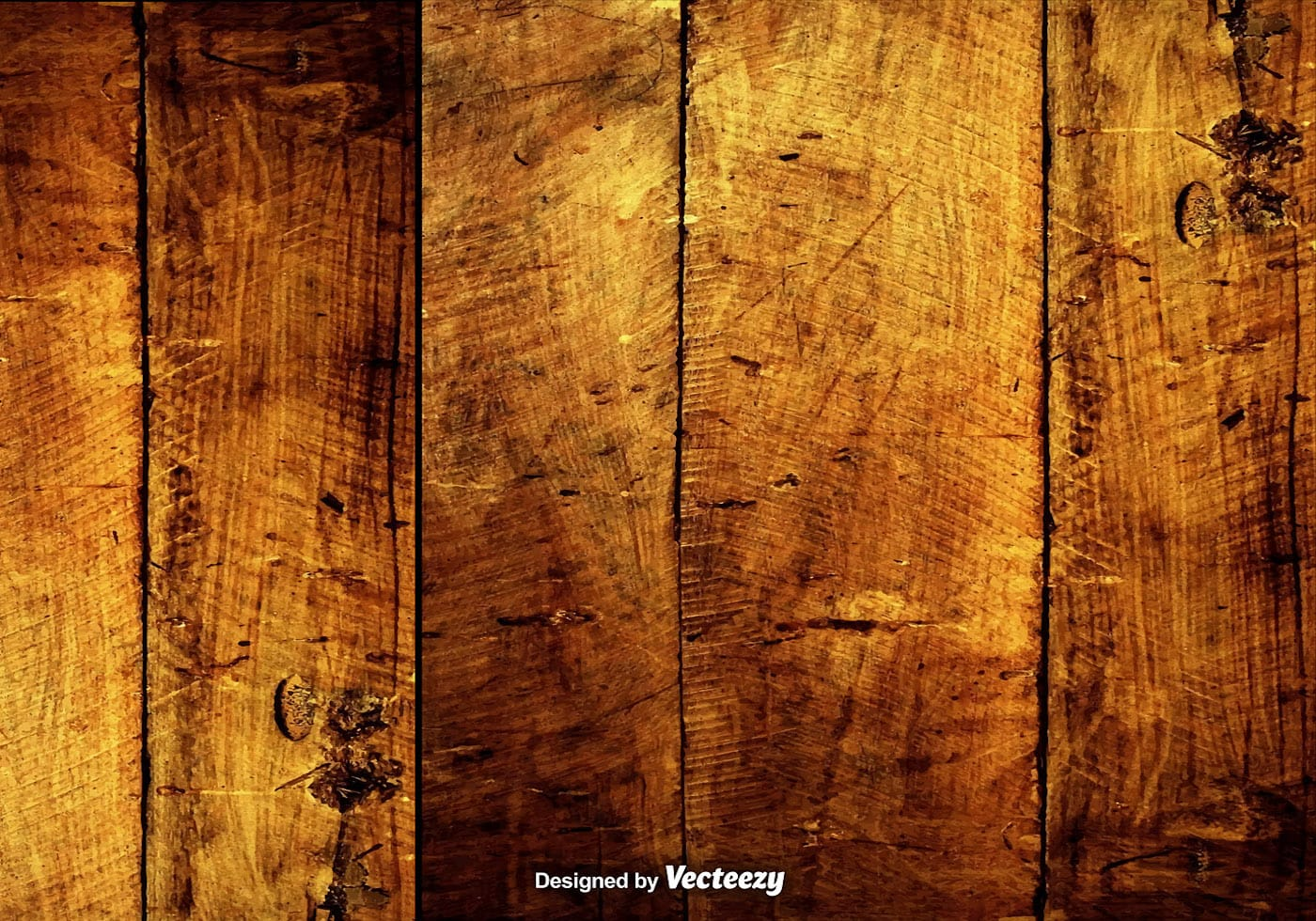 Vector Grungy Hardwood Scratched Planks Download Free