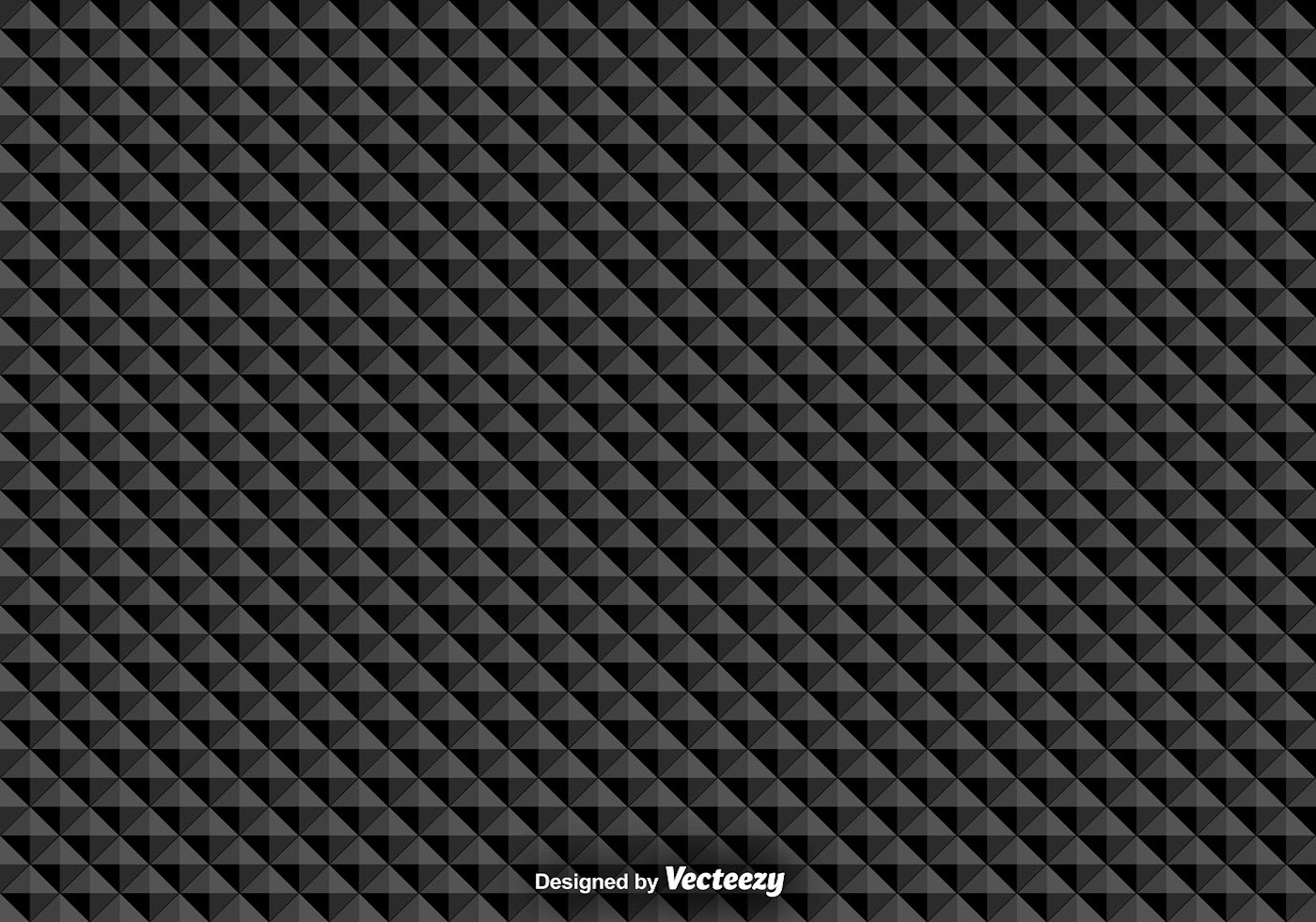 Vector Seamless Pattern With Black Triangles Download