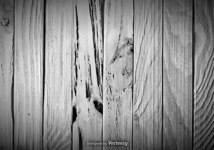 Vektorillustration av gråt lövskog