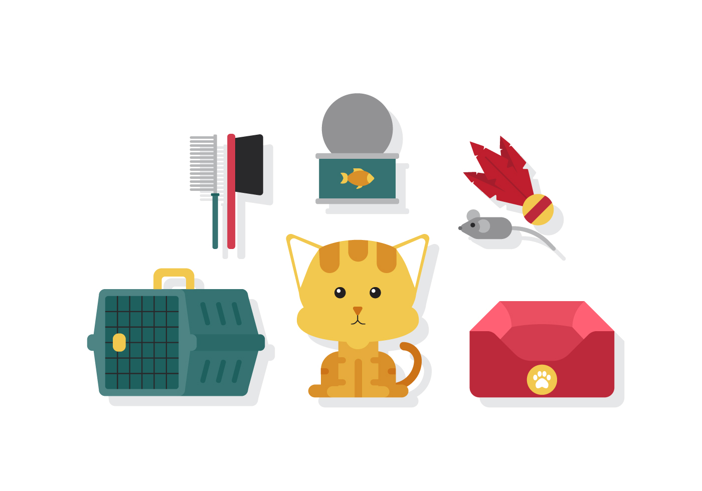Vector Kitty Cat Pet Download Free Vector Art Stock