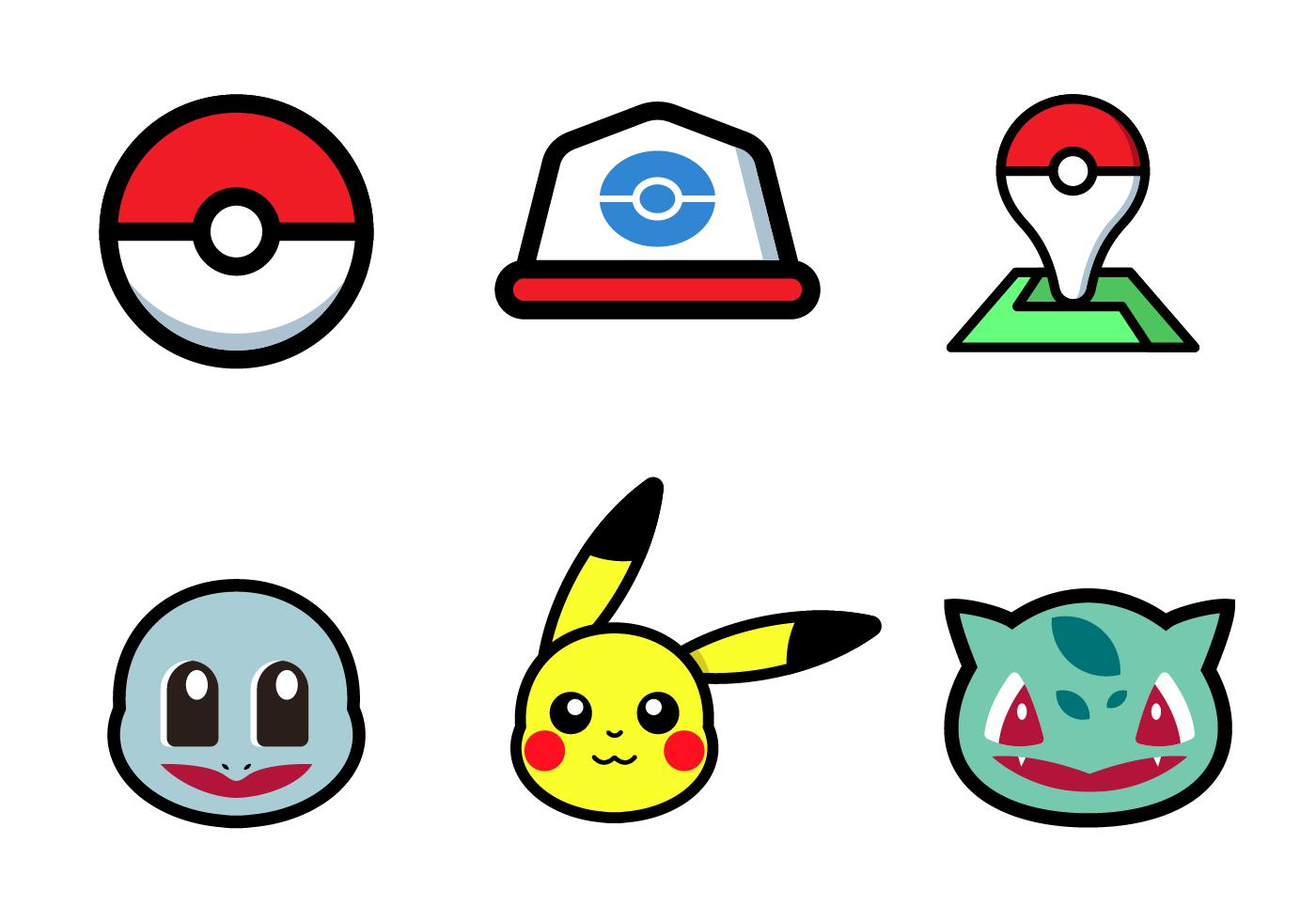 Free Pokemon Vector Download Free Vector Art Stock