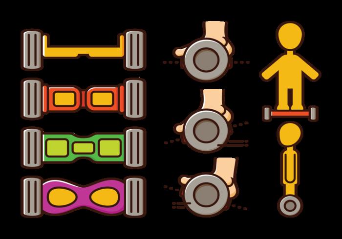 Segway Vector Ikoner