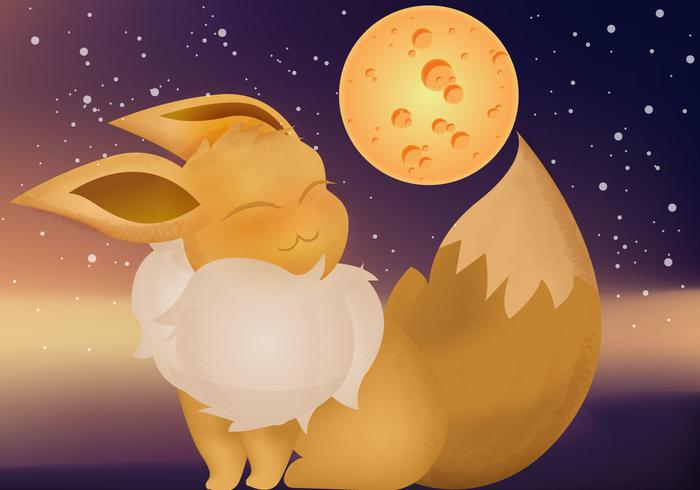 Evee Pokemon Vector