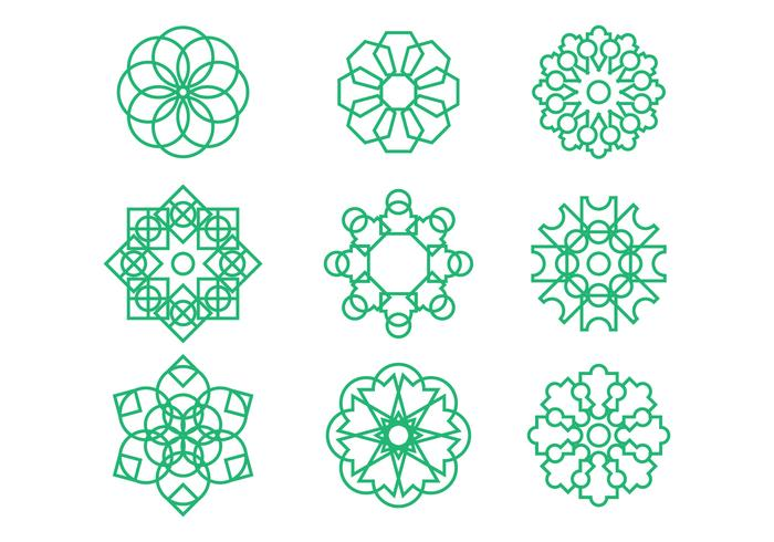 Free Arabesque Graphic Ornament Vectors