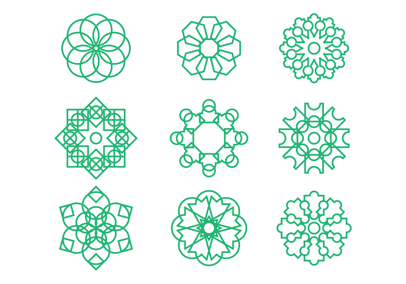 Line Art Design Free Download : Free arabesque graphic ornament vectors download