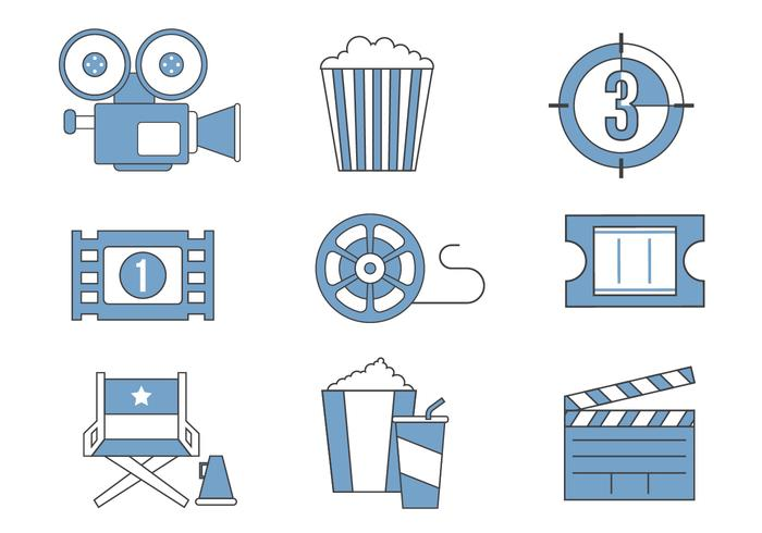 Free Movie Icon Vector