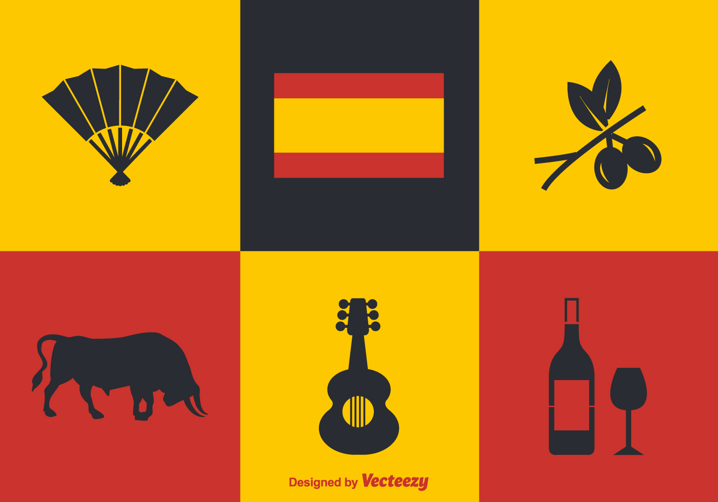 Free Spanish Vector Icons - Download Free Vectors, Clipart ...
