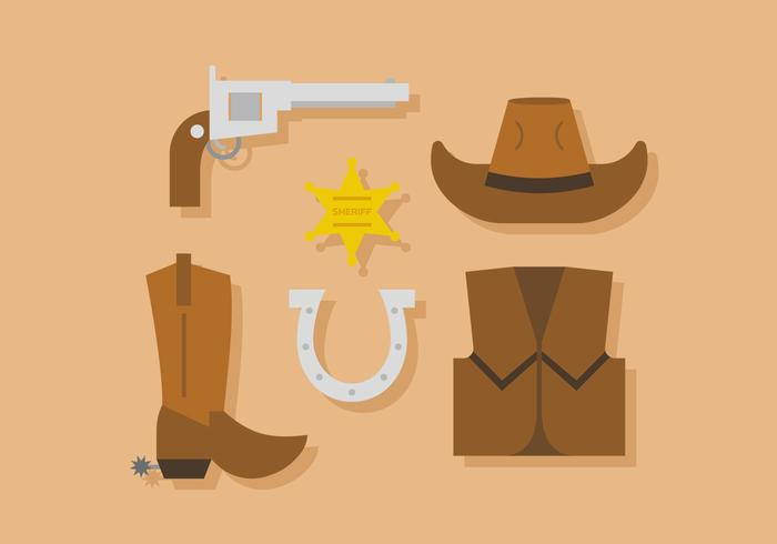 Vector Sherriff Icons