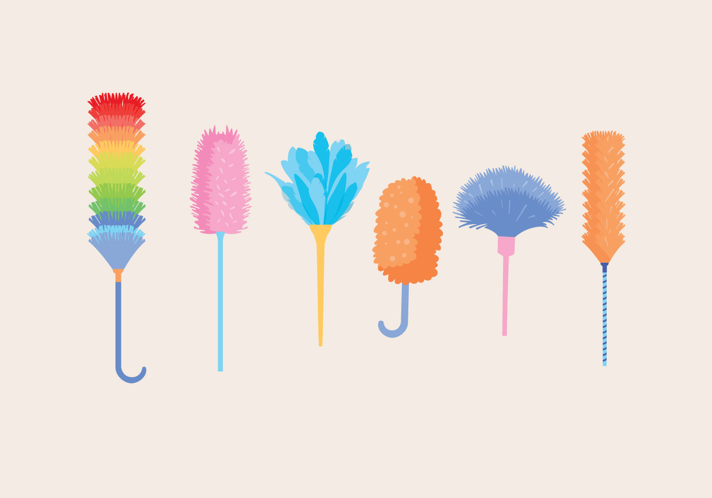 Feather Duster Vector - Download Free Vector Art, Stock Graphics ...