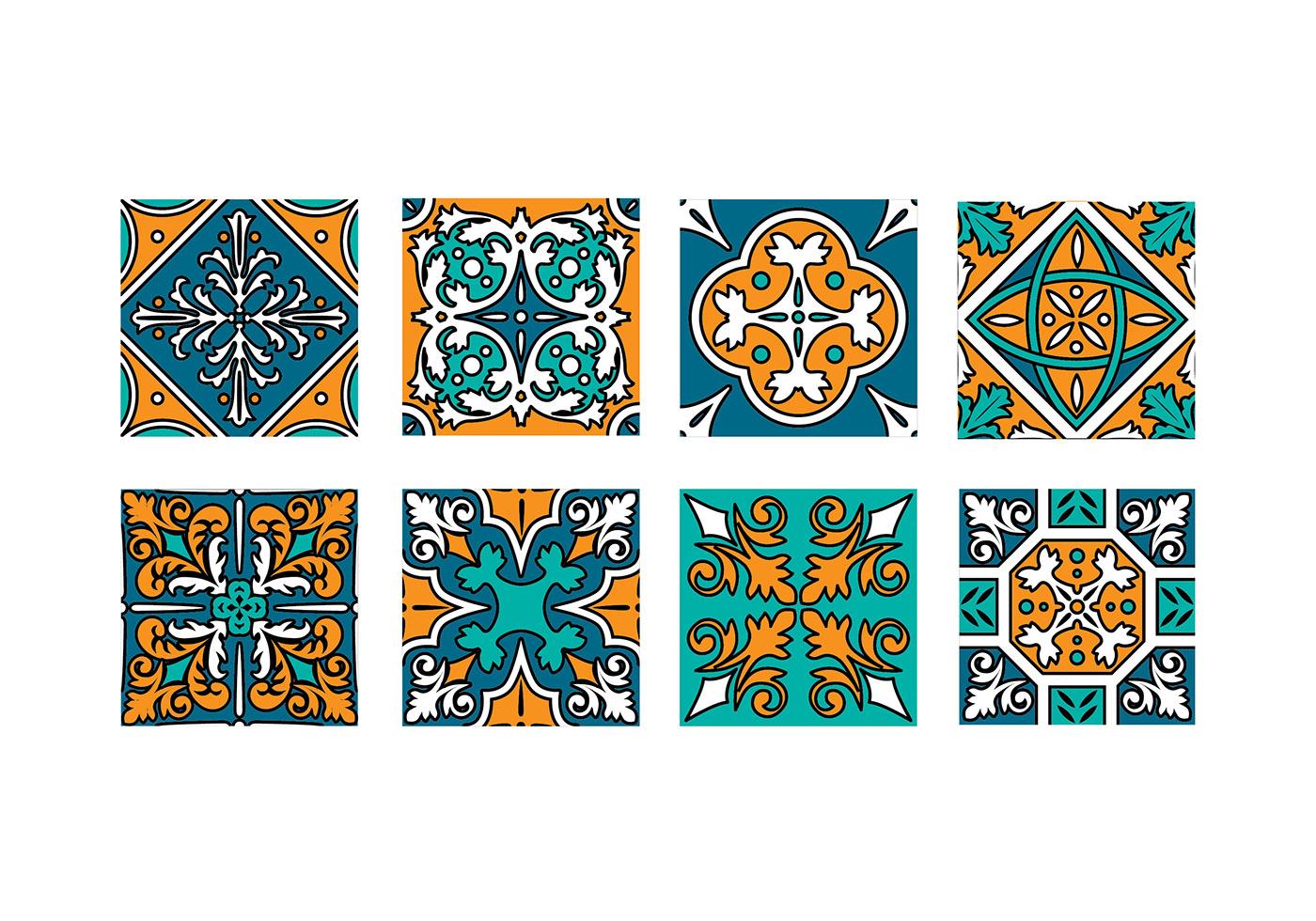 Maroc Tile Vector Download Free Vector Art Stock