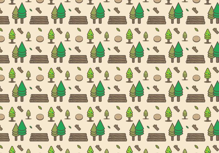 Vettore gratuito di tronchi di legno