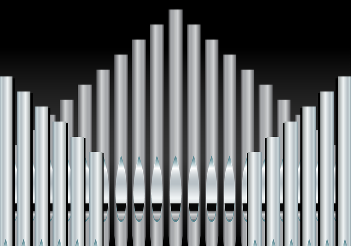 Free Pipe Organ Background Vector