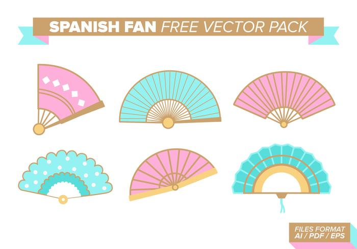 Español Fan Free Vector Pack