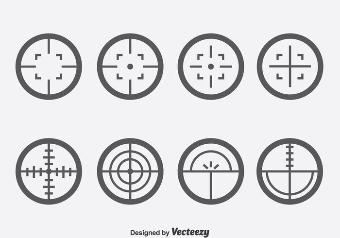 Laser Tag Vector Set