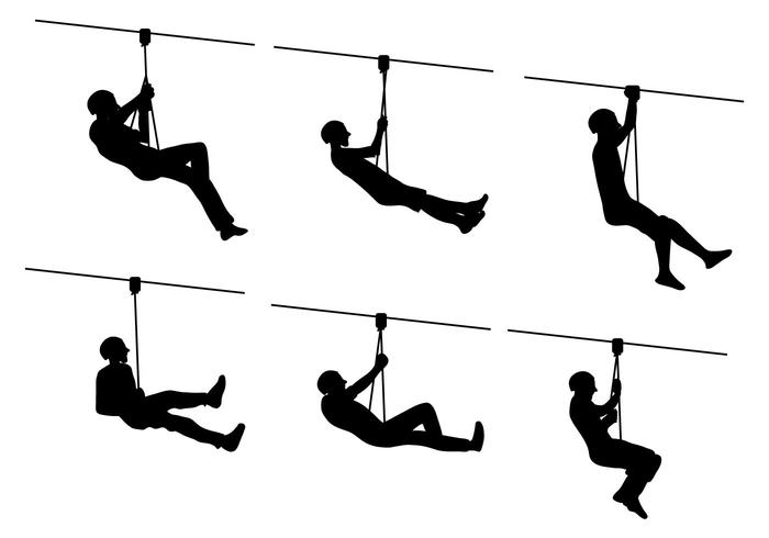 Zip Line Clipart : Zipline vector download free art stock graphics