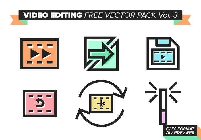Video Editing Free Vector Pack Vol. 3