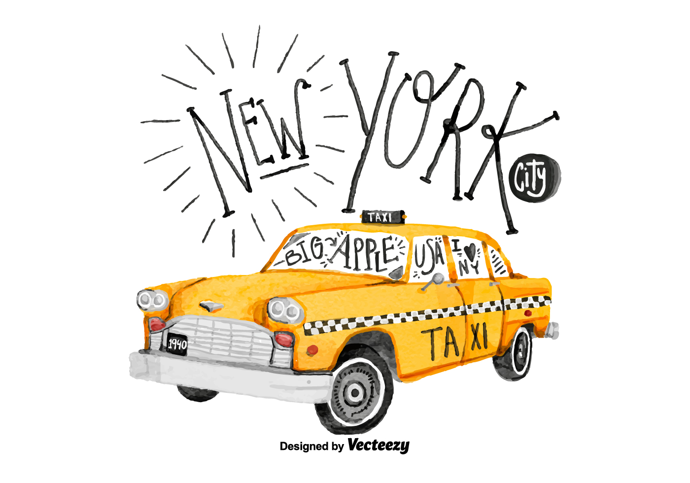 Taxi Vector Images (over 25 )