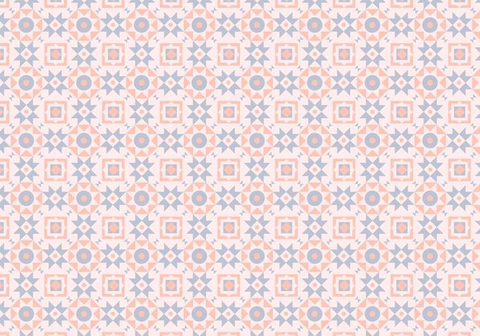 Mosaic Pink Pastel Pattern