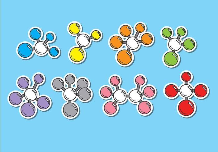 Atom Icons Vectors