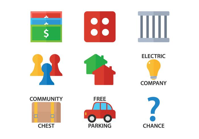 monopoly flat icon download free vector art stock graphics images