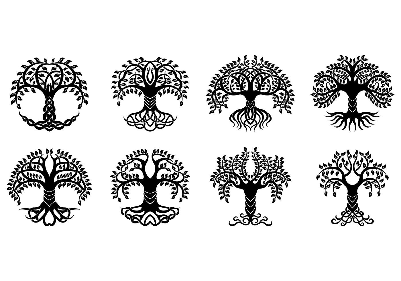 Celtic Knot Ring Tattoo Design Vetor