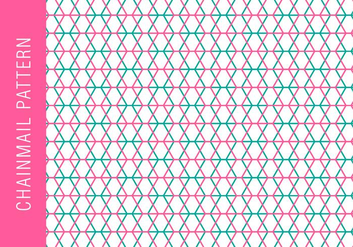 Chainmail Background Pattern
