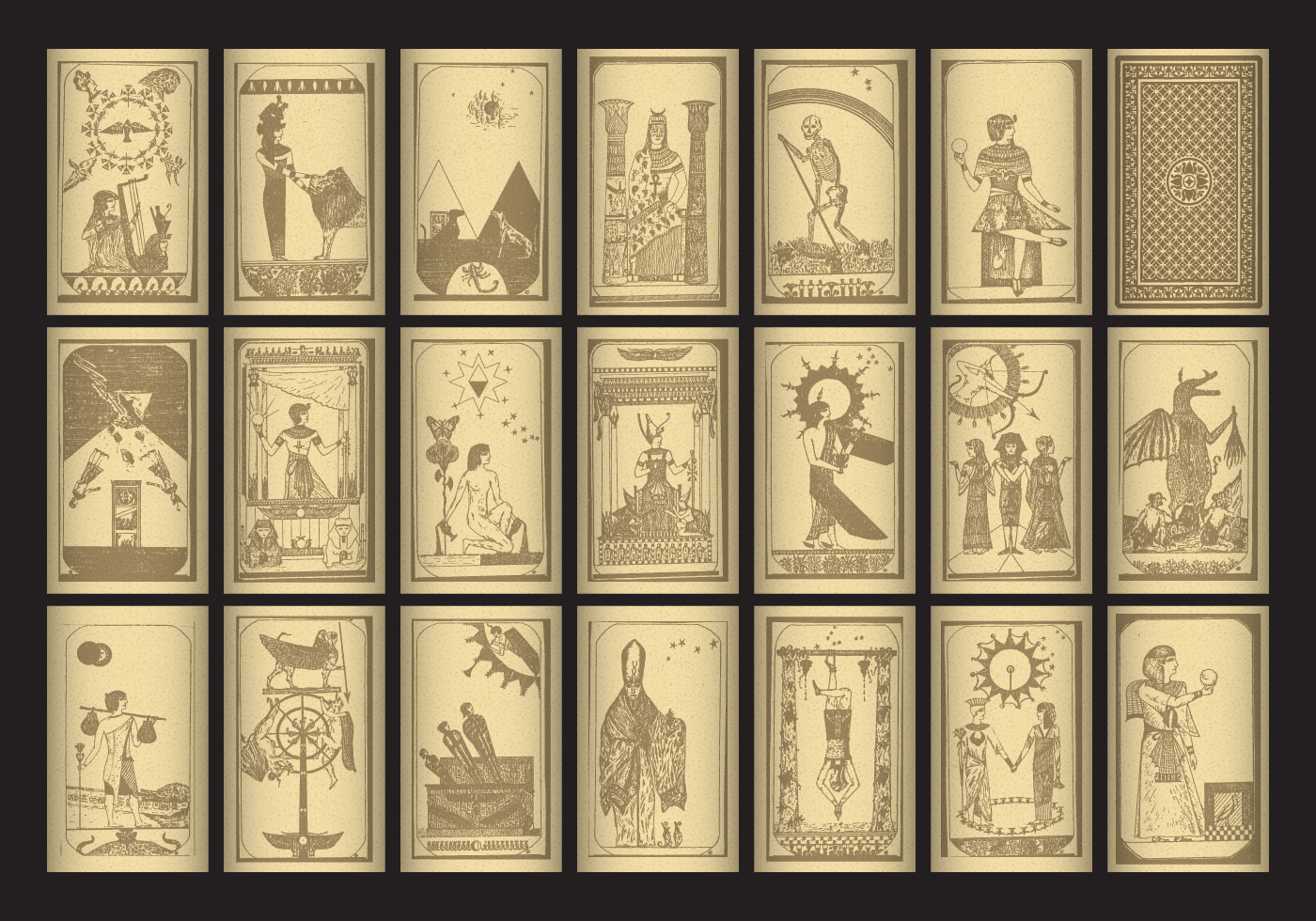 Egypt Tarot - Download Free Vector Art, Stock Graphics ... Crystal Ball Fortune Teller