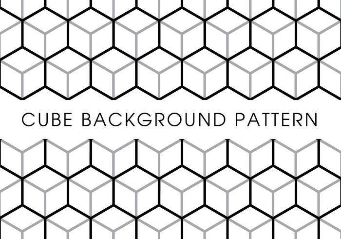 Cube Background Pattern