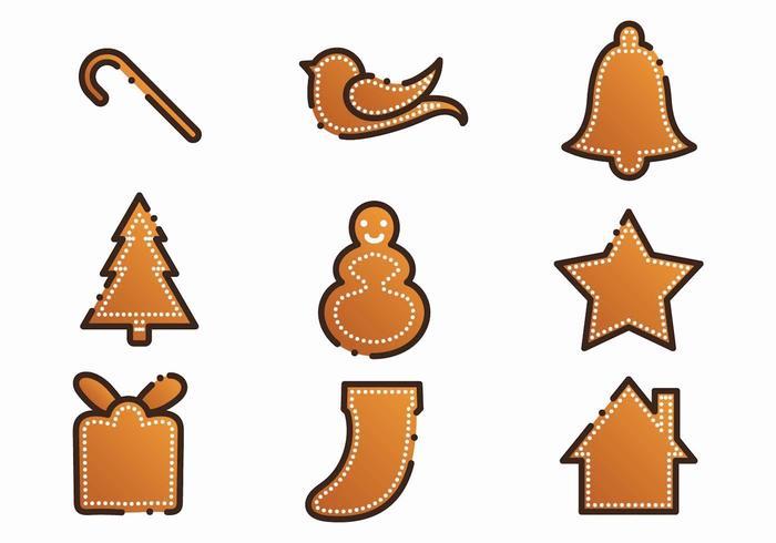 Free Xmas Gingerbread Lebkuchen Set