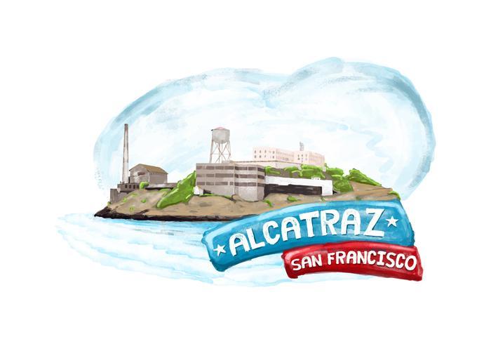 Gratis Alcatraz Vector