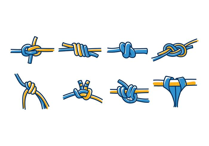 KLETTER WAND KNOT VECTOR