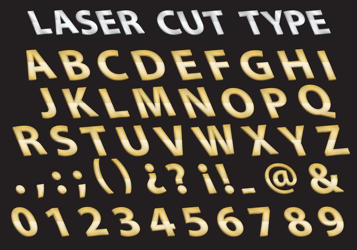 Type de coupe au laser en métal