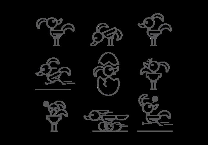 Roadrunner Icons