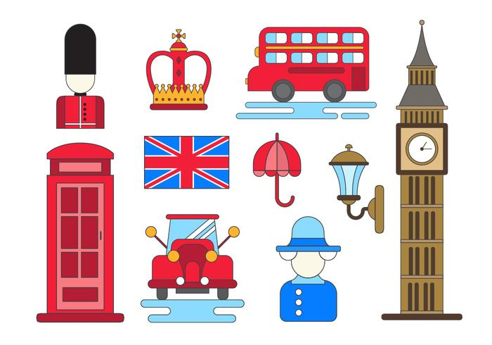 Free England Vector Icons