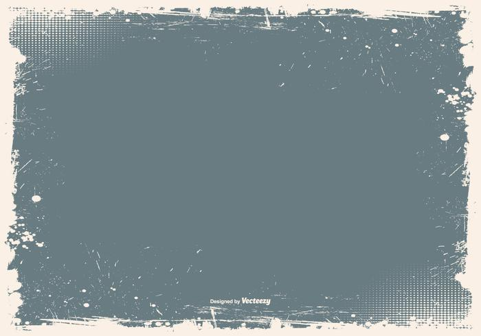 Grunge Frame Vector Background