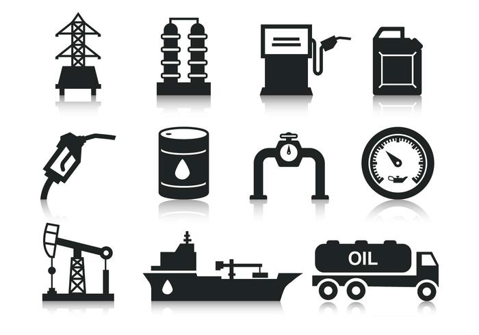 Free Oil Icons Vector