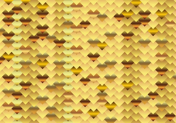 Chainmail Gold Background
