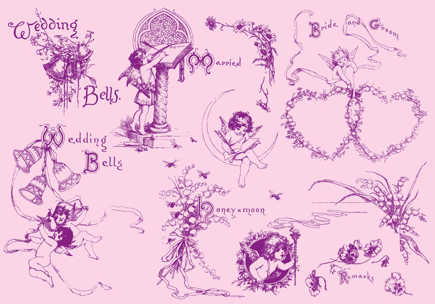Wedding Drawings - Download Free Vector Art, Stock Graphics & Images