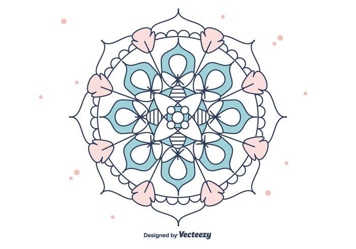 Vector Mandala grátis
