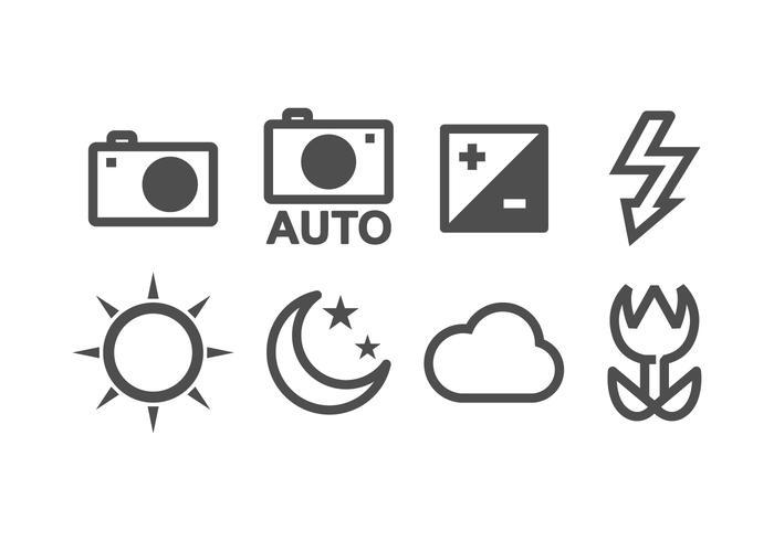 Free Camera Icon Set