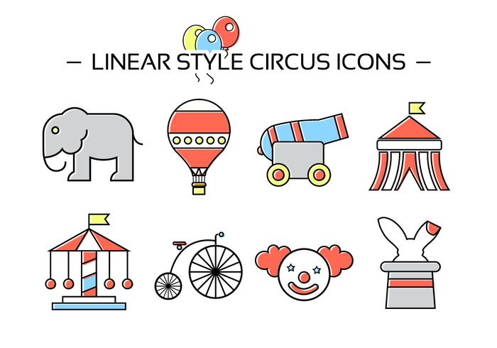 Free Circus Icons