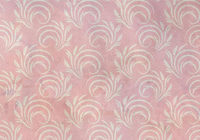 Rose Pattern Western seamless Flourish Pattern