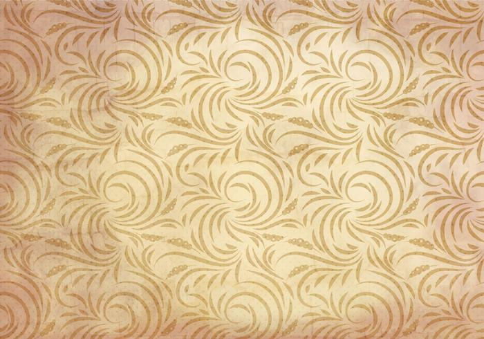 Vector Western Flourish Seamless Pattern