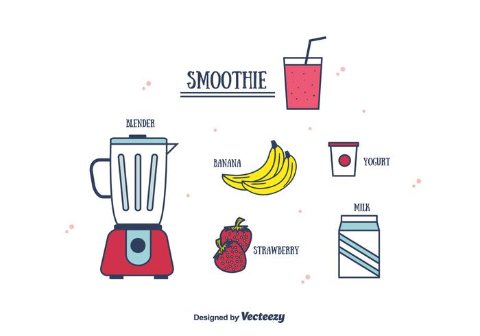 Smoothie Vector