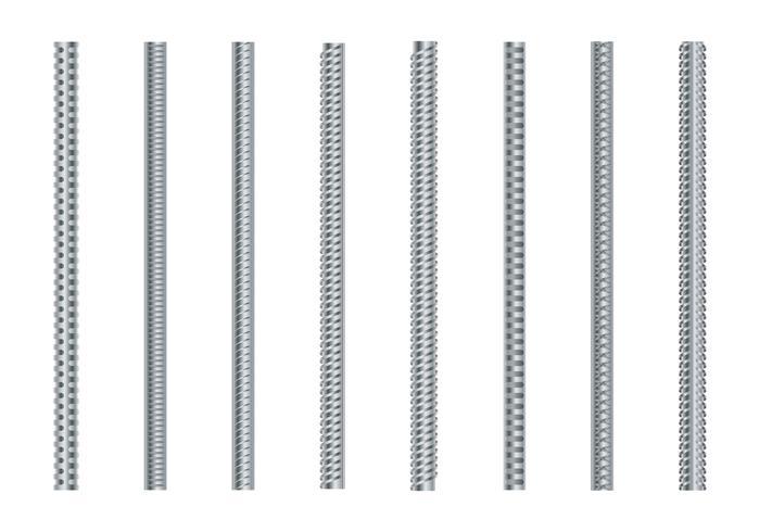 Set vettoriale di barre