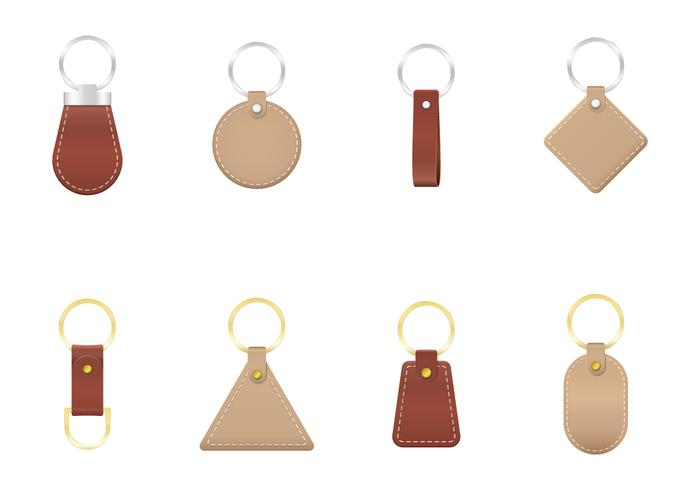Free Leather Keychains Vector