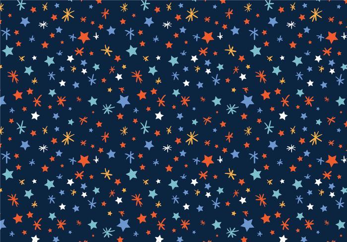 Gratis stjärnor Mönstervektorer