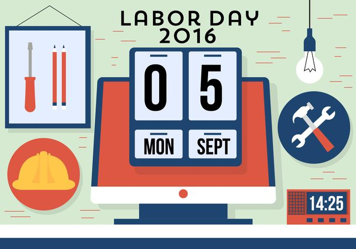 Free Labor Day Vector