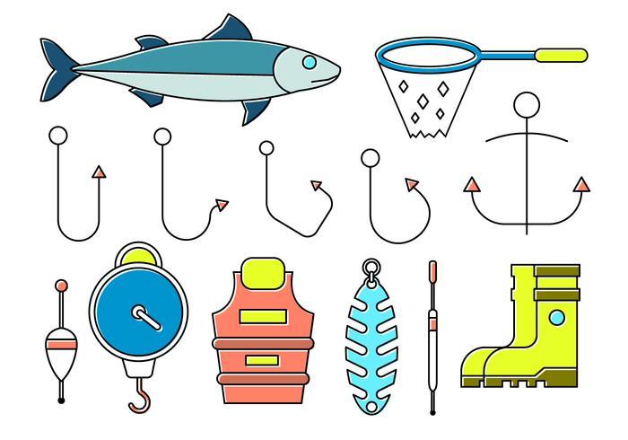 Free Fishing Icons