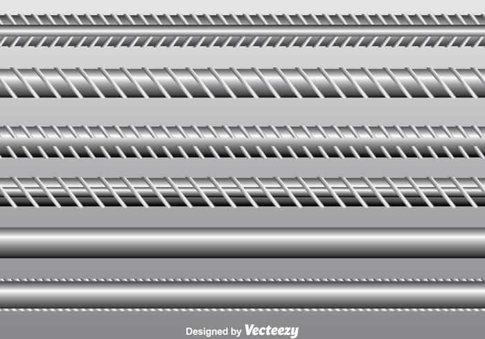 Rebar Vector Set